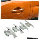 クロームメッキ ABS Chrome Exterior Door Handle Bowl Cover...
