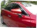クロームメッキ Chrome Rearview Side Mirror Stripe Cover T...
