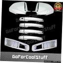 クロームメッキ For 2008-2011 Cadillac CTS Full Mirror Chr...