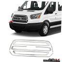 クロームメッキ For Ford Transit 250 2015-2020 Chrome Fron...