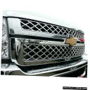 クロームメッキ Chrome Grille Overlay 2500 3500 for 2011-2...
