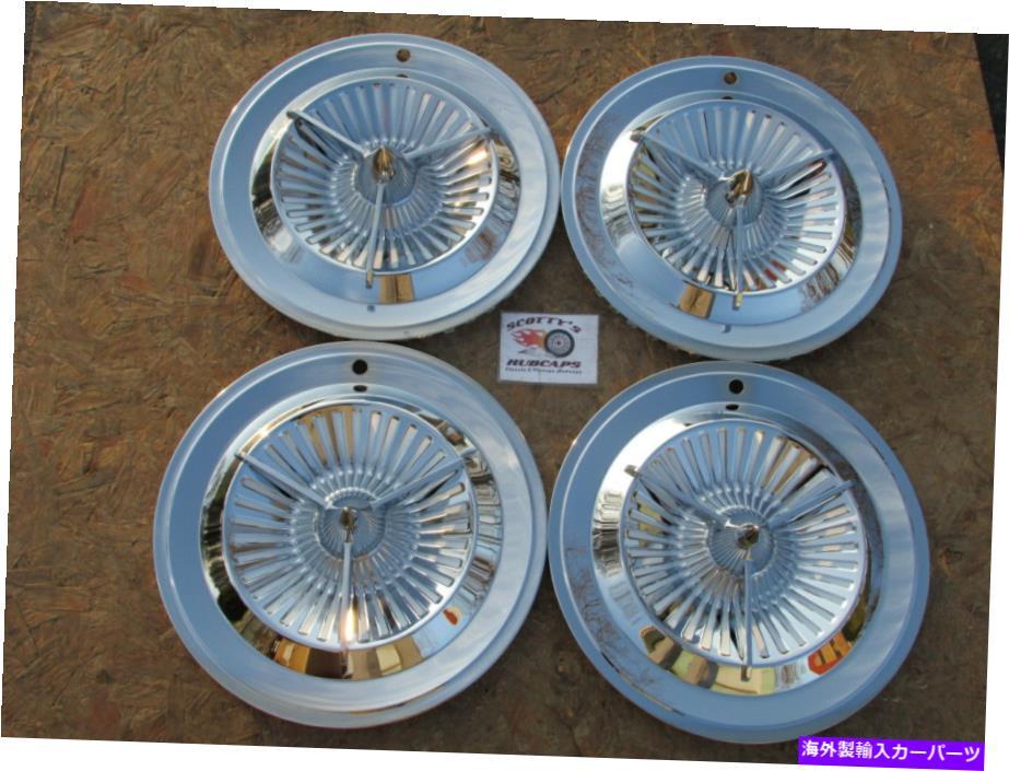内装パーツ, その他 Wheel Covers Set of 4 16 POLARA TRI BAR WHEEL?4?NEW 16 POLARA TRI BAR WHEEL COVERS HUBCAPS, SET OF 4, NEW