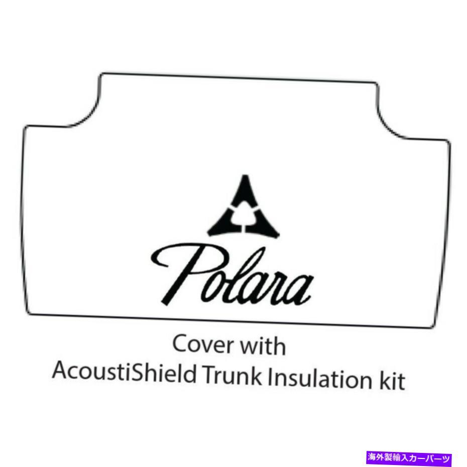 外装・エアロパーツ, その他 Cover Rear Trunk 1962-1964Polara Trunk Floor Mat Cover and Insulation for 1962-1964 Dodge Polara