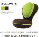 (背筋がGUUUN 美姿勢座椅子リッチ)(お色:メッシュグリ...