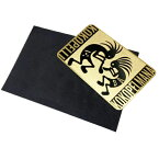 (ココペリ&ココペルマナ ゴールドラックカード)Kokopelli 金運 開運 運気上昇 幸せ card kokopelli Rainbow Card 激安 特価品 sale 時間限定 メール便対応