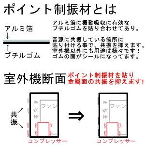 防振ゴムブロックGBK-40室外機や配管支持におすすめ