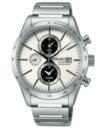 【SEIKOSPIRITSMART】セイコースピリットスマートメンズソーラー腕時計SBPY113