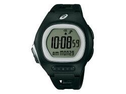 【asics】アシックスSEIKOセイコーAR10ランニングウォッチターサーマラソン用レース用薄型軽量ユニセックス腕時計液晶ダイアルCQAR1001