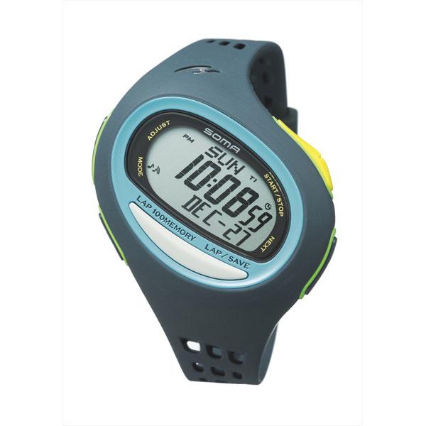 【正規品】ソーマ SOMA RUNONE 100SL ランワン ラージサイズ クォーツ ランニングウォッチ デジタル 腕時計 NS08005