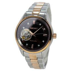 【日本製逆輸入SEIKO】セイコーSEIKOプレサージュ自動巻きメンズ腕時計SSA864J1ブラウン