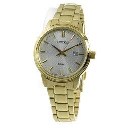 【逆輸入SEIKO】セイコーSEIKOクオーツレディース腕時計SUR744P1シルバー