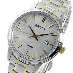 【逆輸入SEIKO】セイコーSEIKOクオーツレディース腕時計SUR745P1シルバー