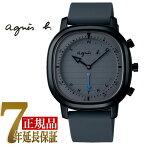 【正規品】アニエスベー agnes b. Bon Voyage! Bluetooth スマートウオッチ メンズ 腕時計 限定モデル グレー FCRB701