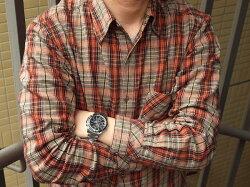 【正規品逆輸入SEIKO】セイコーセンタークロノグラフアラーム機能搭載クォーツメンズ腕時計IPブラック×シルバーベゼルブラックダイアルシルバーステンレスベルトSSC147P1【】