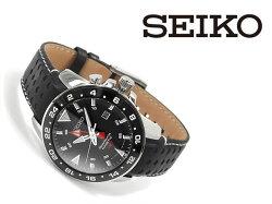 【逆輸入SEIKO】セイコーSporturaクォーツメンズ腕時計SUN015P2