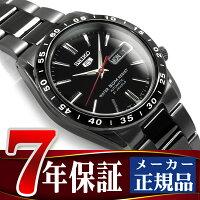 セイコー セイコー5 SEIKO5 セイコーファイブ メンズ 腕時計 SNKE03K 逆輸入セイコー 自動巻き メカニカル 機械式 ブラック メタルベルト SNKE03K1 SNKE03KC 正規品 7年保証 メンズ 腕時計 男性用 seiko5 日本未発売 ビジネス