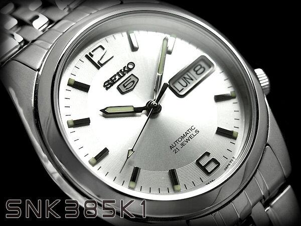 腕時計, メンズ腕時計  5 SEIKO5 SNK385 SNK385K SNK385K1 3 seiko5