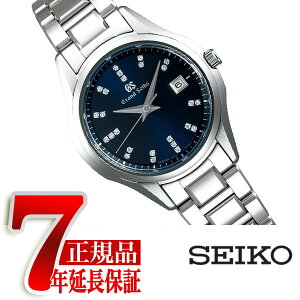 [With Bonus] [Genuine] Grand Seiko GRAND SEIKO 9S Quartz Watch Ladies Navy STGF325