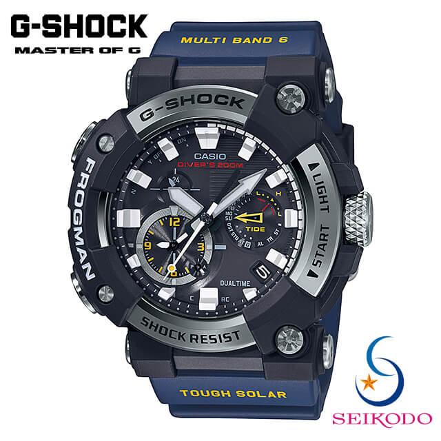 腕時計, メンズ腕時計  CASIO G G-SHOCK FROGMAN GWF-A1000-1A2JF Bluetooth