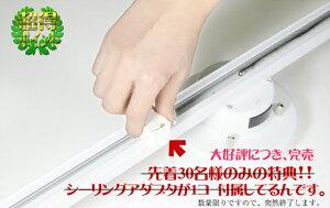 簡易取付式ダクトレールリモコン・壁掛けホルダー付属リモコン付ライティングレール