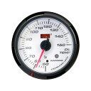 【5個限定 ポイント10倍】オートゲージ 油温計 SM 60Φ ホワイ...
