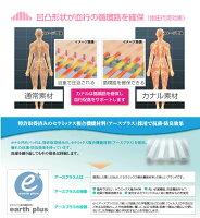 【安眠・美容・ダイエット】カナル凹凸パッド医療現場から生まれた新素材!睡眠促進通気性指圧代用