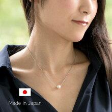 日本産アコヤ真珠一粒ネックレス-Jewelry_Museum_ジュエリーミュージアム