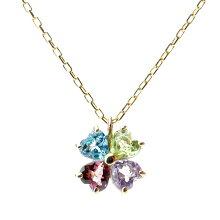四つ葉のクローバーネックレス-Jewelry_Museum_ジュエリーミュージアム