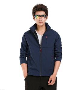 ソフトシェル ジャケット メンズ アウトドア ライダース マウンテンイクイップメント テックライダース 通気性 防風性 撥水性 軽量