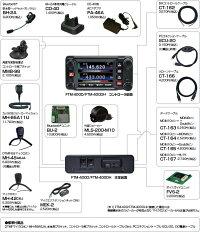 【FTM-400XDH】@スタンダード《アマチュア無線機・次世代デジタル・アナログトランシーバー》144/430MHz2バンドモービル※取り扱い免許:3アマ