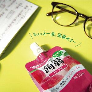 【国内製造】ゼリー飲料毎日ゼリー蒟蒻グレープ味150g×24袋入こんにゃくグレープ低カロリー果汁食物繊維
