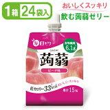 セイウ【毎日ゼリー蒟蒻】ピーチ味150g24袋入