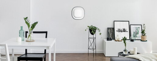 【送料無料】壁掛け空気清浄機「AuraAir(オーラエアー)」空気の見える化をしながら99%ウイルス除去