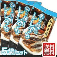 ししゃも炙り焼きししゃも5袋セットおつまみ1000円ポッキリメール便送料無料セール