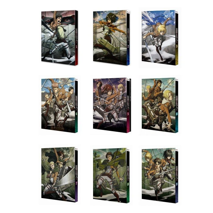 進撃の巨人 全巻(1〜9)Blu-ray セット:脳トレ生活