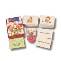 【送料無料】 七田(しちだ)式 英語教材 生活基本文カード