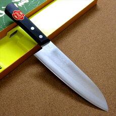 関の刃物三徳包丁175mm鋼割込白紙2号肉魚野菜切万能包丁