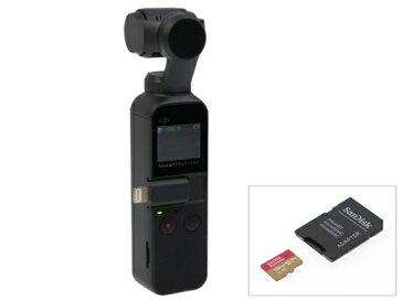 【12/15発売・送料無料】DJI Osmo Pocket (オズモ ポケット)+ micro SDカード[256GB]