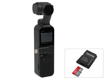 【12/15発売・送料無料】DJI Osmo Pocket (オズモ ポケット) + micro SDカード[16GB]