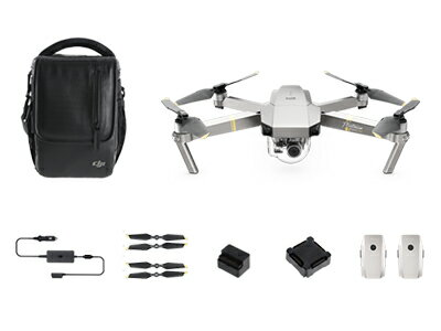 DJI Mavic Pro Platinum Fly More Combo [調整済]
