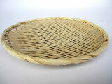 お蕎麦や鍋に 竹製 盆ざる 18cm 【竹ざる 盆ザル】