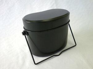 昭和のレトロな金物屋 関口国吉商店キャンプに 飯盒 兵式 4合炊き 飯ごう