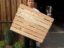 国産ひのき 木製 風呂すのこ 4本足 7枚巾 【ヒノキ 檜 桧】 ふろスノコ*同梱不可の場合別途運賃がかかります*
