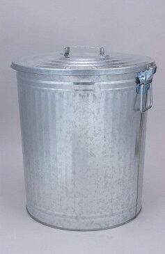 昔ながらの トタンダストペール 65型(蓋付き) 三和金属 【 ばけつ 大型ペール缶 脱衣かご 洗濯物 ごみ箱 ゴミ箱 】*同梱不可の場合別途運賃*