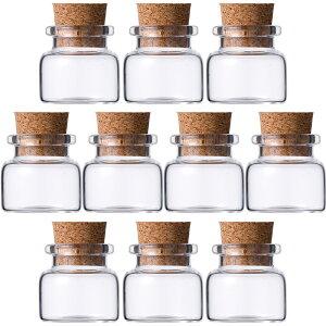 ガラス瓶 コルク瓶 v30×28 〈19.5×17×15〉 -10本セット- glass bottle cork top