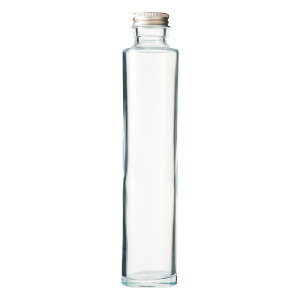ハーバリウム、ドレッシング、タレなどで使える ガラス瓶・透明瓶・円柱瓶 SSS-200A