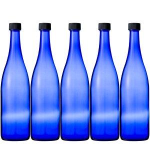 酒瓶 ブルーボトル 720ml 5本セット