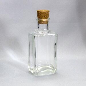 ガラスびんSHOP オリジナルボトル CCR001-F 透明 glass bottle