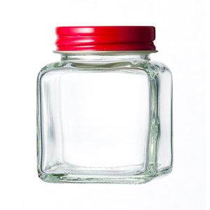 ガラス保存容器 食品瓶 50角ネジ 81ml jar