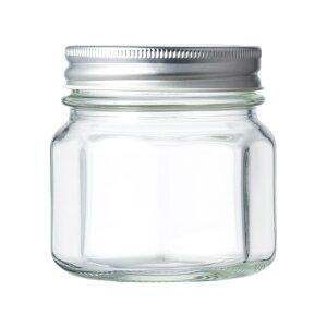 ガラス保存容器 食料瓶 SH8角 264ml jar